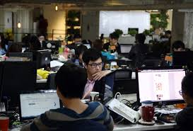 co working spaces China