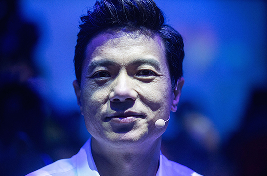 Baidu co-founder and CEO Robin Li attends the annual Baidu World Technology Conference in Beijing on November 1, 2018. (Photo by Fred DUFOUR / AFP)        (Photo credit should read FRED DUFOUR/AFP/Getty Images)