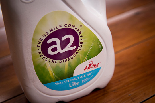 Partnership between A2 and Fonterra's Anchor milk which has started supplying to North Island stores. 2 August 2018 New Zealand Herald Photograph by Dean Purcell. HBG 04Aug18 - Before moving to a2 Milk, Jayne Hrdlicka was seen as a contender for the top job at Qantas. PHOTO/DEAN PURCELL NZH 04Aug18 - A2 Milk and Fonterra are selling jointly branded A1-free milk in NZ. NZH 12Jun19 - A2 was the day's biggest gainer, up 3.2 per cent at $14.65. Photo / NZME NZH 17Jul19 - A2 Milk fell 0.9 per cent to $16.40. NZH 31Jul19 -